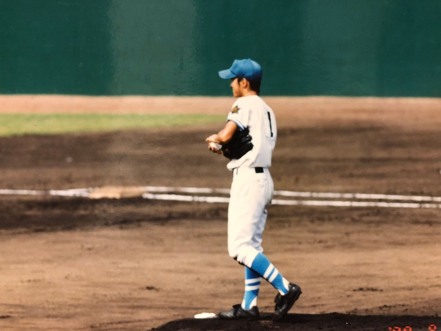 ただ「一生懸命野球をしていた」高校時代。